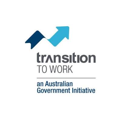 Transition to work logo