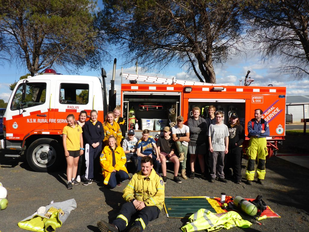 Aspire NSW group at Rural Fire Service Day